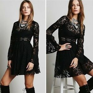 FREE PEOPLE Lovers Folk Song Dress